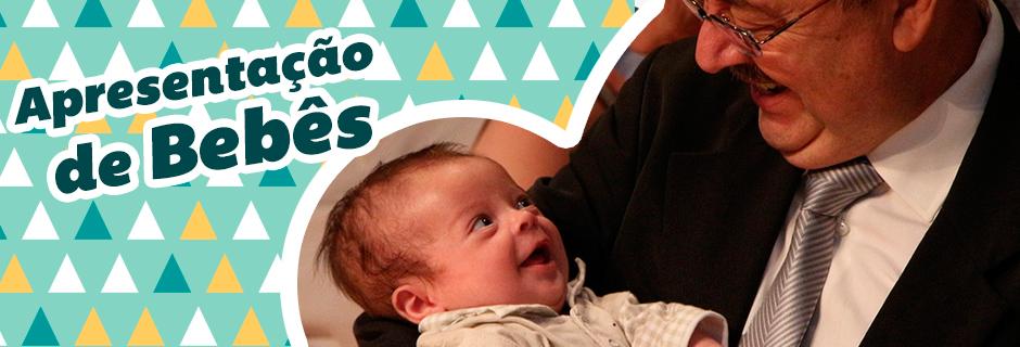 Apresentacao de bebe